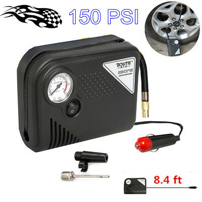 Tire Inflator Car Air Pump Compressor Electric Portable Auto 12V Volt 150 PSI