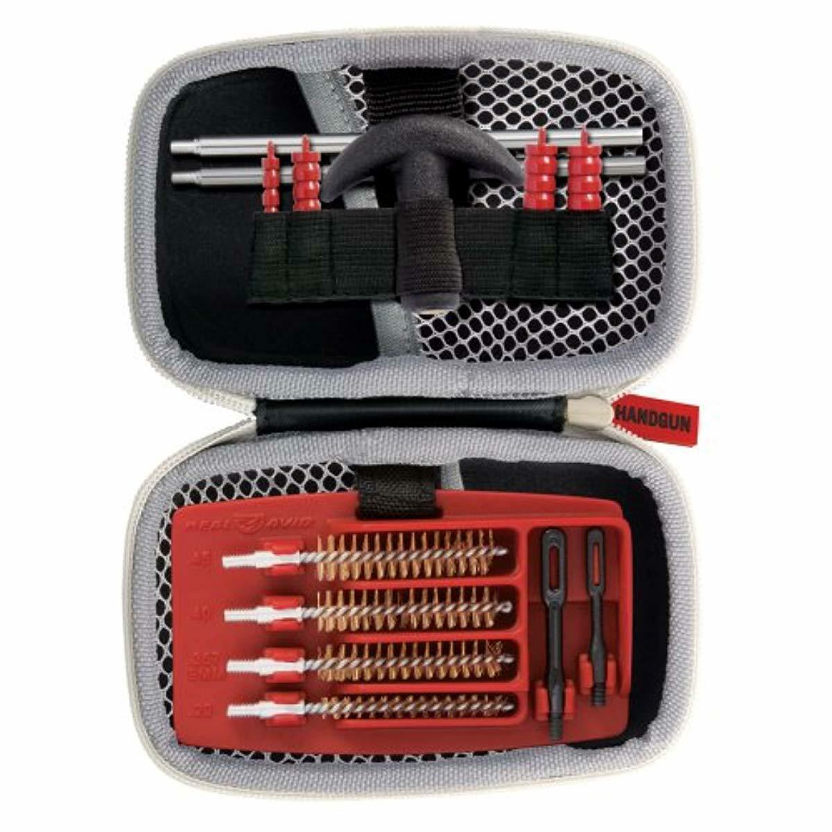 Real Avid Gun Boss Handgun Cleaning Kit for .22 .357 9MM .38