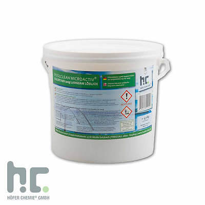 1 x 5 Kg Chlor Tabs 200g langsam löslich einzeln verpackt