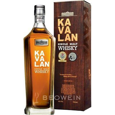 China Whiskey (Kavalan Single Malt Whisky 0,7 l Classic aus Taiwan Taiwanesischer Whiskey)