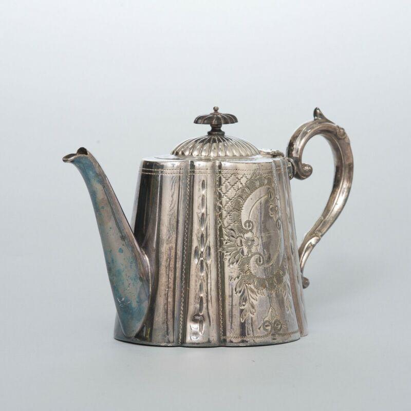 Antique Wilkinson Sheffield London Silverplated Teapot Style #2506 Silver Plate