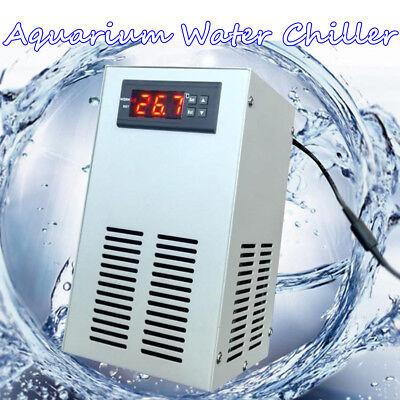 35L 72W Aquarium Water Chiller Fish Shrimp Tank Cooling LCD Display AC 110-240V