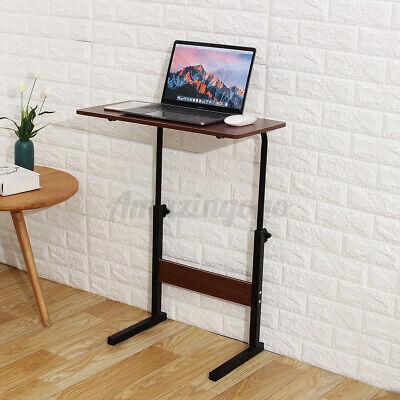 Mobile Laptop Stand Side Table Adjustable Angleheight Desk Sofa Side Bedside