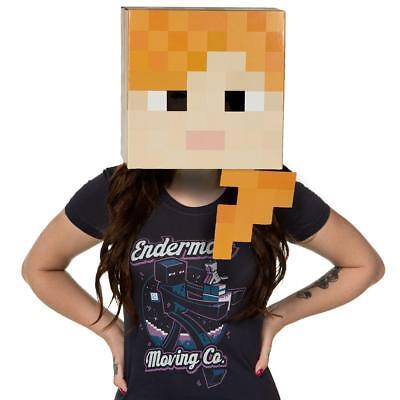 Minecraft Maske Alex, Gaming Kostüm Spielzeug Verkleidung Fasching Halloween OVP