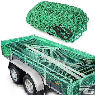 Anhängernetz 2 x 3 m reißfest dehnbar Nylon PKW Anhänger Netz Transportnetz