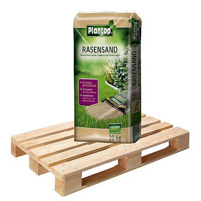 PLANTOP Rasensand + Wurzelaktivator 48 Sack á 20 kg = 960kg Rasen-Sand Rasenerde