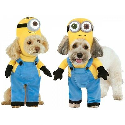 Minion Costume Pet Despicable Me Halloween Fancy Dress - Halloween Costume Despicable Me