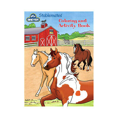 NEW Breyer Stablemates Coloring & Activity Book