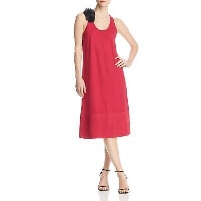 Kenneth Cole Women's Embellished Racerback Sleeveless Tank Dress