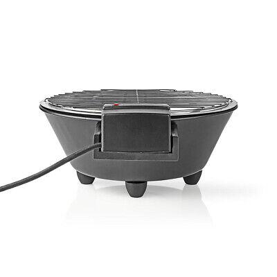Tisch Elektrogrill Metall Thermostat 1250 Watt, Durchmesser 30 cm Grill
