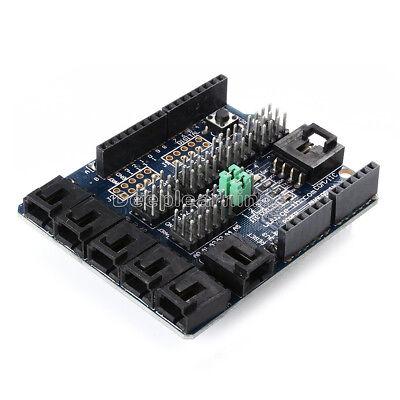 1x Duemilanove Shield V4 Digital Analog Module Servo Motor For Arduino Uno Mega