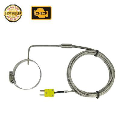Egt Thermocouple K Type For Exhaust Gas Temperature With Adjustable Clamp