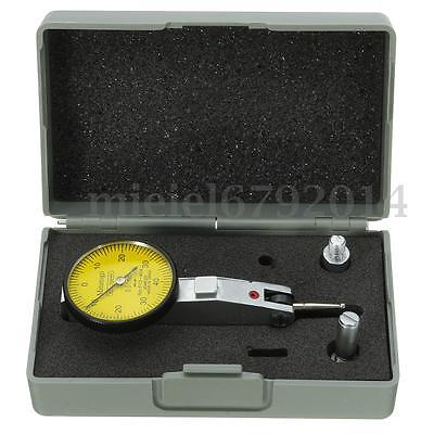 0-0.8mm 0.01mm Dial Gauge Test Indicator Scale Precision Metric Dovetail 0-40-0