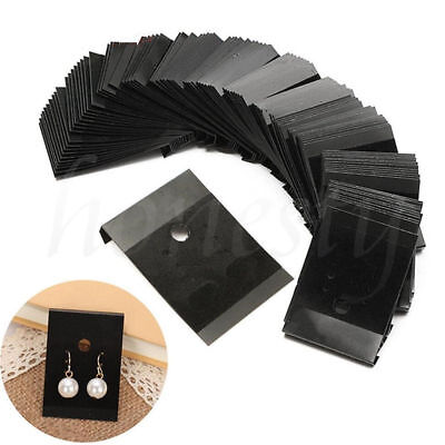 100x Plastic Jewelry Earring Ear Studs Hanging Holder Display Hang Cards 54.5cm