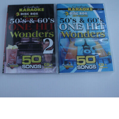 Karaoke CDGs, DVDs & Media - 50 60'S Vol