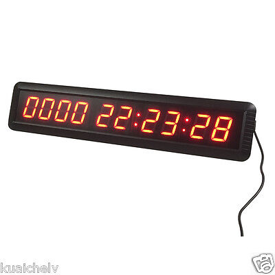 NEW ARRIVAL! 1.8 10 Digits LED Days Countdown Clock Support HRS MINTS SECS