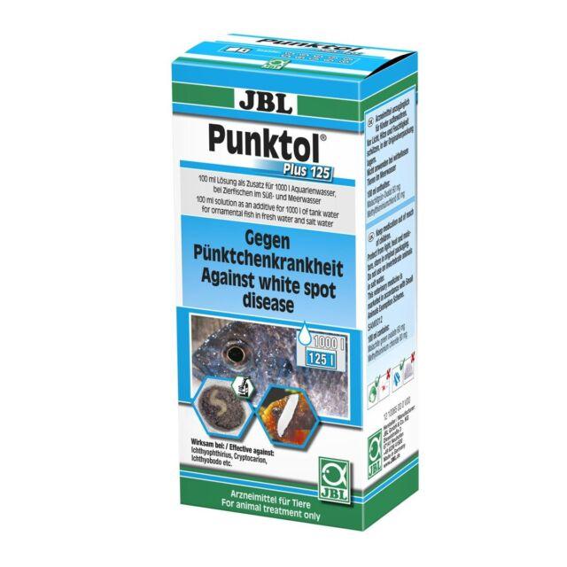 JBL Punktol Plus 125 - 100 ml - Heilmittel gegen Weiße Pünktchen Medizin Heilung