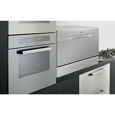 غسالة صحون جديد Countertop Dishwasher Silver Portable Compact Energy Star Apartment Dish Washer