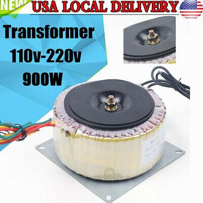 900w Toroidal Power Transformer Low Frequency Isolation Transformer 202015cm