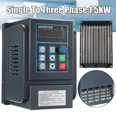 1.5kw Single 220v Input To 3 Ph 380v Variable Frequency Drive Converter Inverter