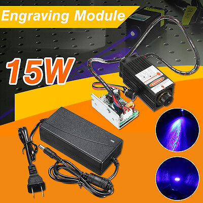 15w Laser Head Engraving Module Wood Cutting Marking For Engraver Adaptor