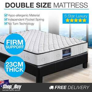 Free Delivery: Pocket Spring High Density Foam Mattress Double Moorebank Liverpool Area Preview