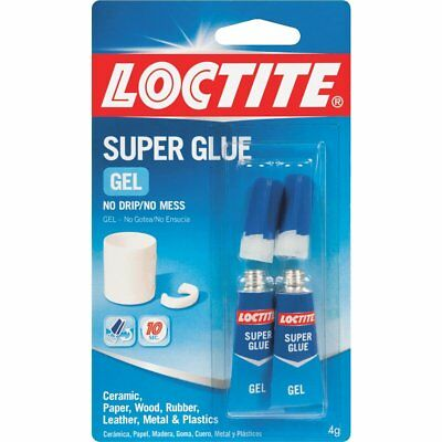 2 Cards Loctite Super Glue Gel