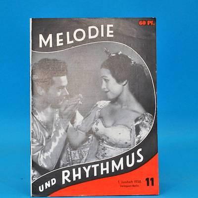 DDR Melodie und Rhythmus 11/1958 Julia Axen Orchester Herbert Gelbke Leipzig