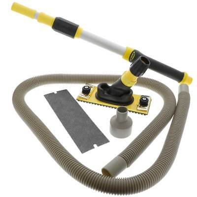 Hyde Professional Dustless Drywall Pole Sander Kit - With Vacuum Pole (09175)