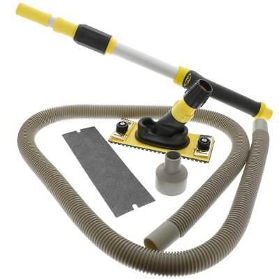 Hyde Professional Dustless Drywall Pole Sander Kit - With Vacuum Pole 09175