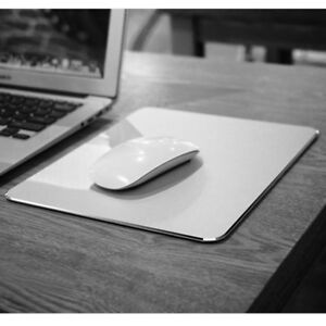 Aluminum Alloy Gaming Mouse Mat Pad Mousepad For Macbook Apple ASUS Dell Lenovo
