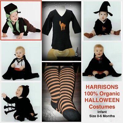 NEW 100% Cotton Harrison's FRANKENBABY Infant Baby Halloween Costume 0-6Mos NWT - Harrison Halloween