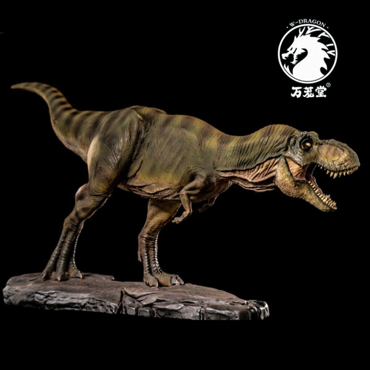 W-Dragon Tyrannosaurus Rex Model T-Rex Statue Dinosaur Figure Collector Toy @@@