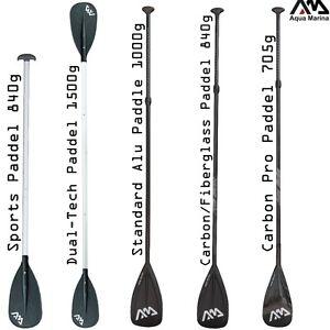 Aqua-Marina-Vario-SUP-aluminio-carbono-Remos-160-212cm-Tabla-Surf-de-3-piezas