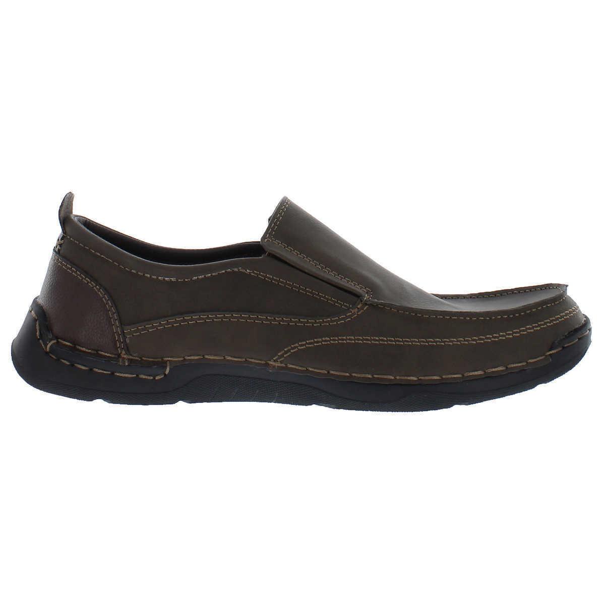 Izod Thomas Men's Slip On Shoe Memory Foam Flexible LightWeight Loafer 2