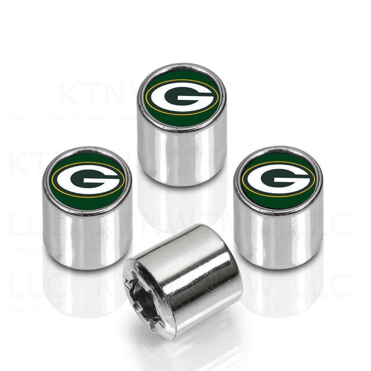 New NFL All Teams Car Truck SUV Van Plastic Chrome Finish Tire Valve Stem Caps