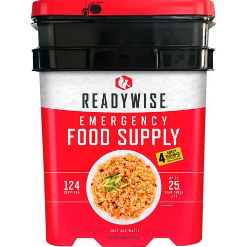 Readywise Emergency Food Supply, 124 servings + 8 Bonus servings, 10 lbs 15.1 oz
