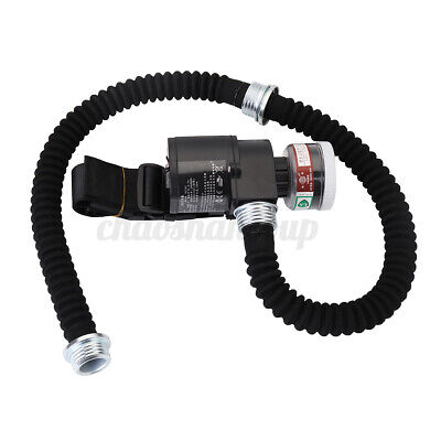 Electric Supplied Air Fed Pump Canister+ 2 Trachea + Cartrid