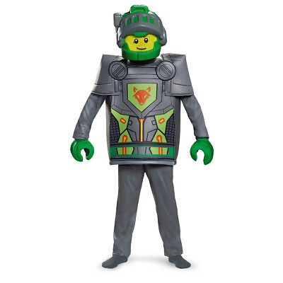 Lego Knight Costume (Aaron Deluxe LEGO NEXO Knights Child Costume | Disguise)