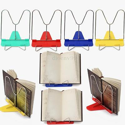 Adjustable Angle Foldable Portable Reading Book Stand Pad Mount Document Holder