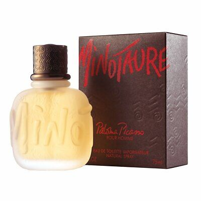 PALOMA PICASSO MINOTAURE POUR HOMME 75ML EAU DE TOILETTE SPRAY NEW & SEALED