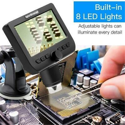 Wifi 4.3 1000x Lcd Screen Digital Video Electronic Microscope Hd 1080p 8 Led