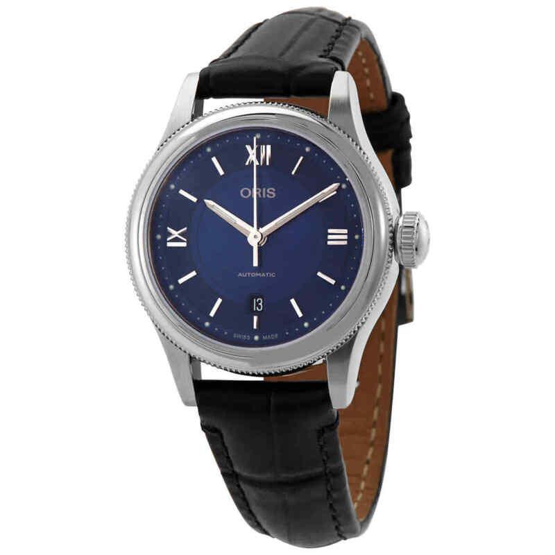 Oris-Classic-Date-Automatic-Blue-Dial-Ladies-Watch-01-561-7718-4075-07-5-14-35