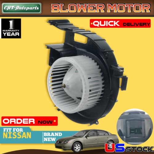 Front HVAC Blower Motor TYC 700240 For Nissan Altima 05-06 Maxima 04-08