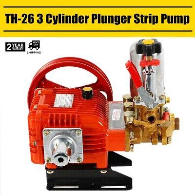 Agricultural Chemical Triplex Plunger Pump Spray Pump Pressure Washer 26-type