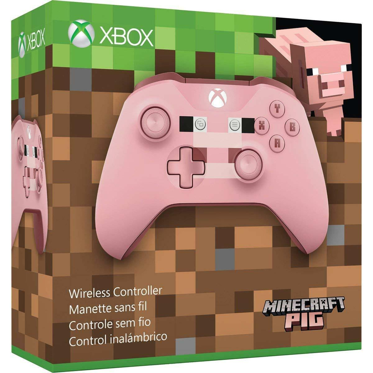 Details about Xbox One Wireless Controller Minecraft Pig Edition [Microsoft  Windows 11 Remote]
