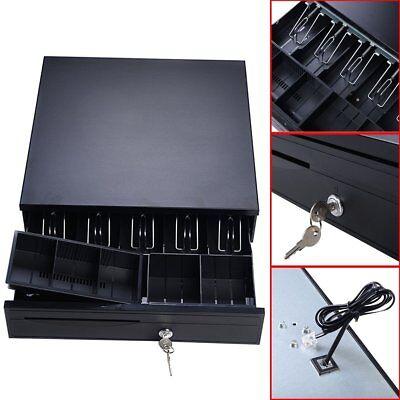 Quickbooks Aldelo 5 Bill 5 Coin Cash Register Drawer Box Pos Printer Compatible