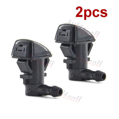 2pc Windshield Washer Nozzle For Chrysler 300 Dodge Challenger Charger 5182327AA Pair Windshield Washer