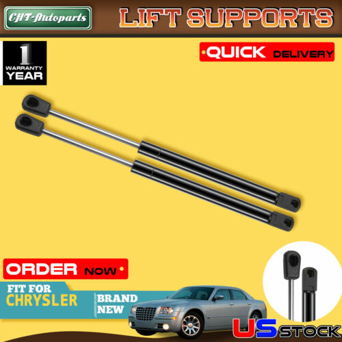2 Pcs Gas Charged Universal Lift Supports Struts Shocks Springs Dampers Extended Length 10 inches Compressed Length 6.54 inches 60lbs Force 10.2mm Eyelet ends 4037,SG459003
