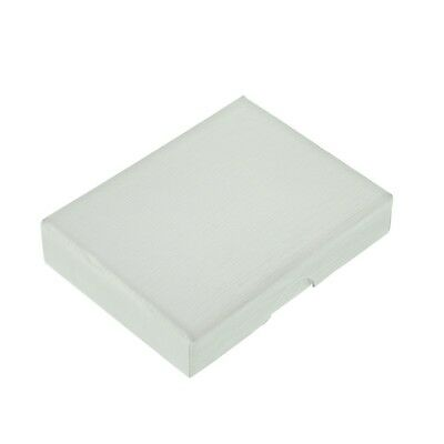 X65x Card - Beautiful White Rigid Card Post Friendly Gift Box 90 x 65 x 19mm XWGB05